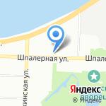 Шпалерная 50 на карте Санкт-Петербурга