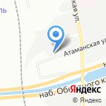 Смольнинский-2 на карте Санкт-Петербурга