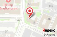 Схема проезда до компании Креакон-Декораторы в Санкт-Петербурге