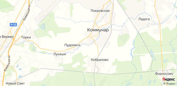 Вяхтелево на карте