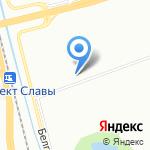 Экономстрой на карте Санкт-Петербурга