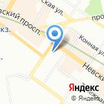 Фактор на карте Санкт-Петербурга