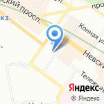 Культурный центр на карте Санкт-Петербурга