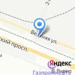 Турист на карте Санкт-Петербурга