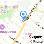 Вентмастер на карте Санкт-Петербурга