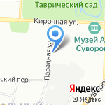 Гранд Строй на карте Санкт-Петербурга