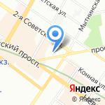 Skipo на карте Санкт-Петербурга