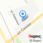Северо-Западный ПРЕДСТАВИТЕЛЬ на карте Санкт-Петербурга