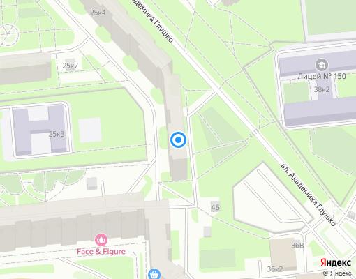 Жилищно-строительный кооператив «ЖСК №1014» на карте Санкт-Петербурга