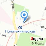 Отдел брендинга на карте Санкт-Петербурга