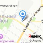 Blueberry на карте Санкт-Петербурга
