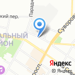 Экомет-С на карте Санкт-Петербурга