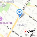 Тандем на карте Санкт-Петербурга