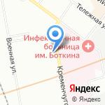 Николаевский Ансамбль на карте Санкт-Петербурга
