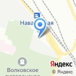 Транзит-Сервис на карте Санкт-Петербурга