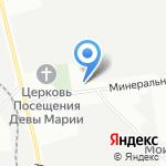 СТО №1 на карте Санкт-Петербурга