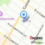 Трест Севзапэнергомонтаж на карте Санкт-Петербурга