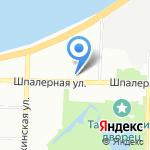 Ирест строй на карте Санкт-Петербурга