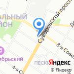 Stafory на карте Санкт-Петербурга