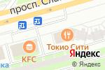 Схема проезда до компании Tokyo-City в Санкт-Петербурге