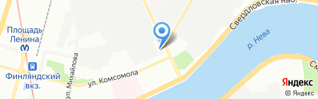АРСЕНАЛ-комплект на карте Санкт-Петербурга