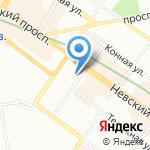 ББР банк на карте Санкт-Петербурга