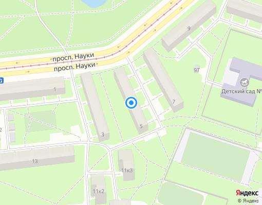 Жилищно-строительный кооператив «СВАРЩИК» на карте Санкт-Петербурга