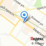 Комитет по здравоохранению Ленинградской области на карте Санкт-Петербурга