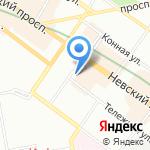 Винная лавка №1 на карте Санкт-Петербурга