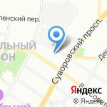 9 Сов на карте Санкт-Петербурга