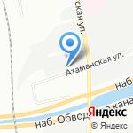 Теплосеть Санкт-Петербурга на карте Санкт-Петербурга