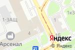 Схема проезда до компании Унисод в Санкт-Петербурге