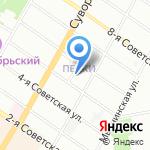 Народная дружина Центрального района Санкт-Петербурга на карте Санкт-Петербурга