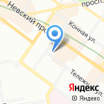 Центр-Инвест-Строй на карте Санкт-Петербурга