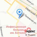 Санкт-Петербургский центр оценки качества образования и информационных технологий на карте Санкт-Петербурга