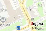 Схема проезда до компании Есенинъ в Санкт-Петербурге