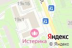 Схема проезда до компании Все для шитья в Санкт-Петербурге