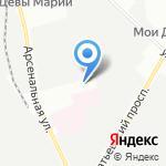Вертикаль на карте Санкт-Петербурга