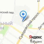 БалтПромСекьюрити СПБ на карте Санкт-Петербурга