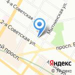 МеталлСтройКомплект на карте Санкт-Петербурга