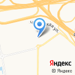 Автошуши на карте Санкт-Петербурга