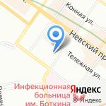 Гео на карте Санкт-Петербурга