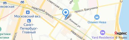ПолисервисМонтажПроект на карте Санкт-Петербурга