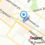 Quip на карте Санкт-Петербурга