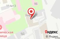 Схема проезда до компании Алия в Санкт-Петербурге