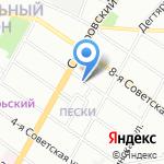 Autodivision на карте Санкт-Петербурга