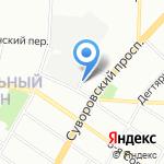 Квант Нева на карте Санкт-Петербурга