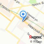Agent provocateur на карте Санкт-Петербурга