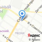 SKOG Homes на карте Санкт-Петербурга