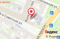 Схема проезда до компании Пять Углов в Санкт-Петербурге